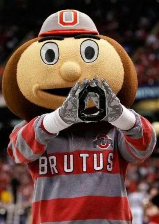 Brutus The Buckeye I M A Buckeye 4 Life Pinterest Ohio State