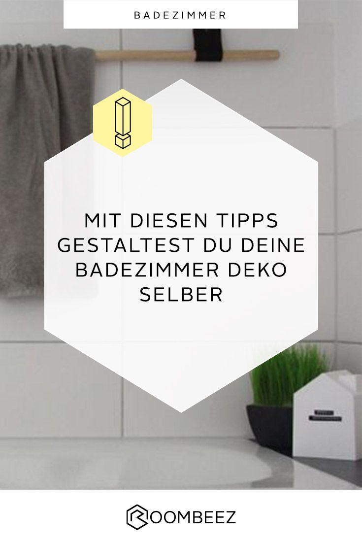Badezimmer Diy Deko Ideen Zum Selbermachen Badezimmer Deko