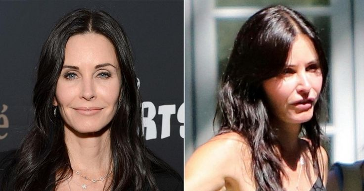 Courtney Cox Plastic Surgery courteney cox photos celebs who had plastic surgery or What Happened to Courtney Cox Face, Courtney Cox Looks Weird,
