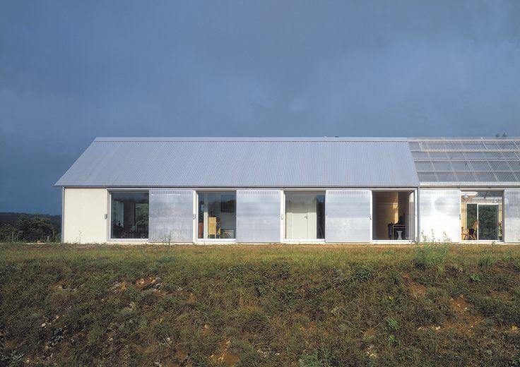 "finn-wilkie: ""Lacaton & Vassal, Maison, Dordogne, 1997 www.lacatonvassal.com/ """