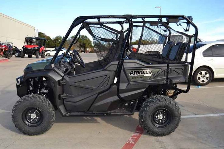 New 2016 Honda Pioneer 1000-5 ATVs For Sale in Texas. 2016 Honda Pioneer 1000-5, We Will Not Be Beat On Price - Call Today 817-244-5201! 2016 Honda® Pioneer® 1000 Not Just Bigger: Better. The outdoors is meant to be explored. The highest hills, the deepest canyons, and the farthest reaches of the forests all lie in wait. And now, we bring you an entirely new vehicle that can get you there. The all-new Pioneer® 1000 is the world s preeminent side-by-side, both in the Honda® lineup, and…