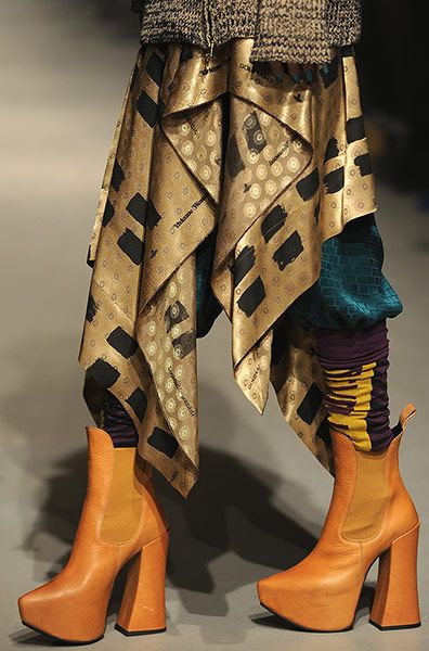Paris Fashion Week: Fall/Winter Ready to Wear collection - good to see she's still bonkers!