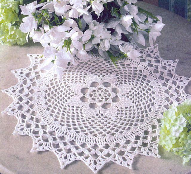 Tecendo Artes em Crochet: Toalhinha Linda e Delicada no Primeiro Post de 201...