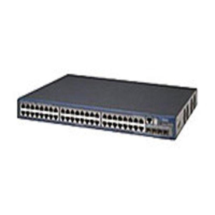3Com Switch 4800G PWR Switch - Managed - stackable - EN, Fast EN, Gigabit EN - United States