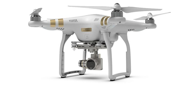 DJI Phantom 3 Professional Quadcopter Drone using 4K UHD Video Camera