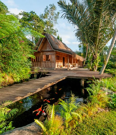 1246 best bali resorts villas and bungalows images on for Bali style homes to build
