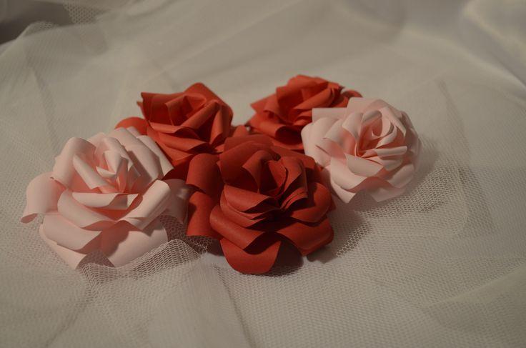 Paper Roses Wonderful Decorations