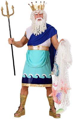 Disfraz de Neptuno - Poseidon adulto