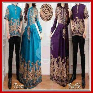 Busana Muslim Sarimbit Batik Modern Dan Terbaru