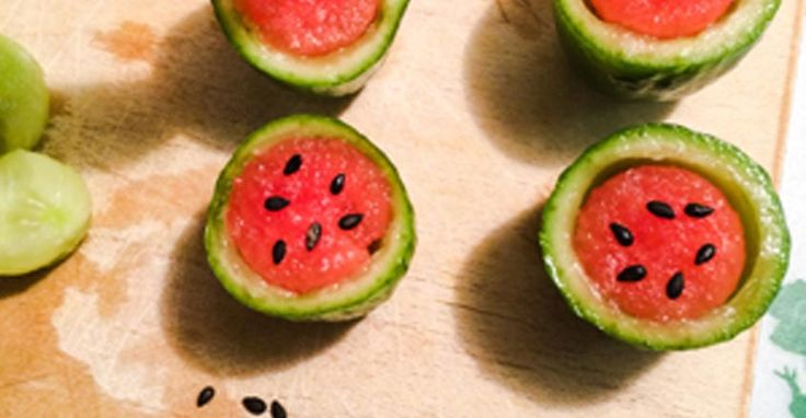 Yummy Mini Watermelons - Nutrition Studies Plant-Based Recipes