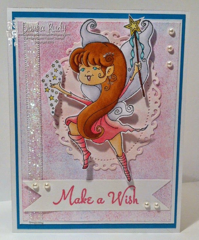 """High Hopes Stamps: SNEAK PEEK - """"Make a Wish"""" by Donna using """"Julie's Wish"""" from the Fairies & Adventurers New Release coming May 1"""