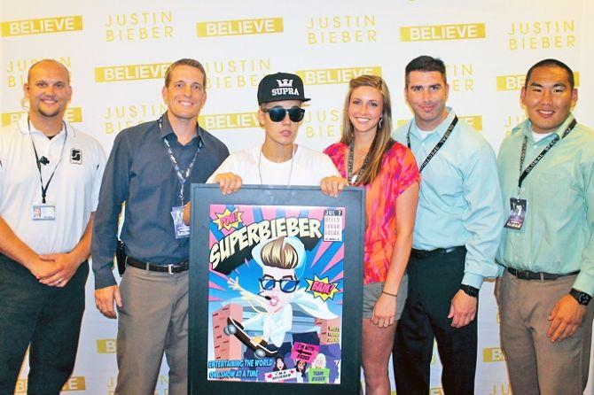 Justin Bieber Got 'Super Bieber' Prize In The Believe Tour