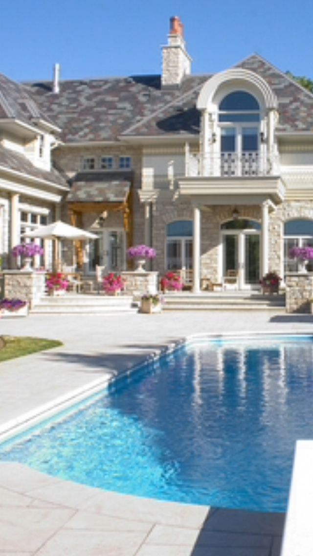 Luxury Homes With Pools 581 best swimming pools/pool houses images on pinterest