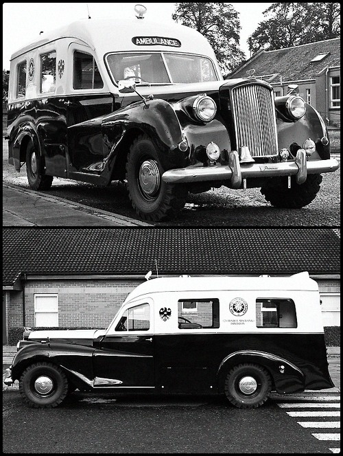 Austin Princess Ambulance TS4 894. This has very little to do with anything, apart from it being the vehicular version of the man of my dreams.