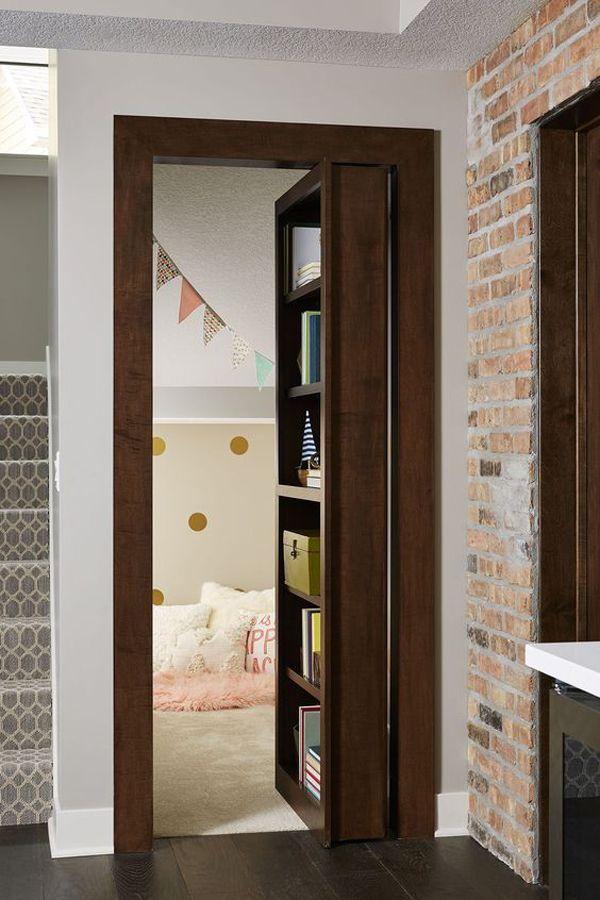 37 Fun And Unique Secret Room Ideas For Your Hideaway Hidden Rooms Bookcase Door Secret Rooms