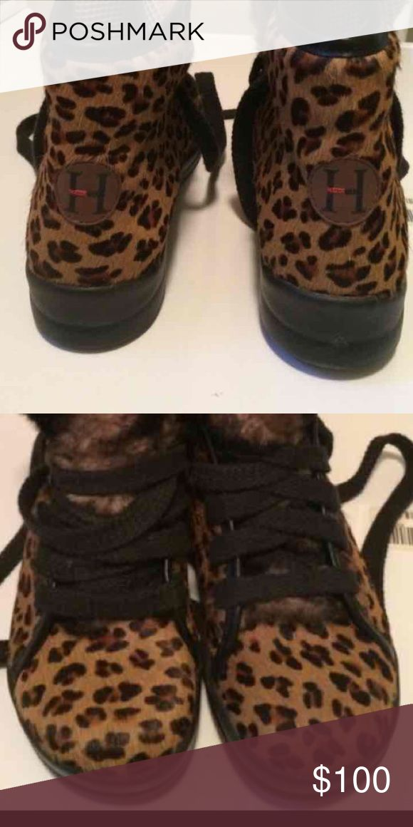 Heidi klum Birkenstock leopard sneakers Like New size 41 extremely rare and unique Birkenstock Shoes Sneakers