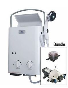 Eccotemp L5 with Flojet Pump & Strainer Bundle | Eccotemp Bundles