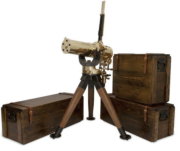 Colt Remake of 1877 Bulldog Gatling Gun caliber 45-70 . Would love to have this.....