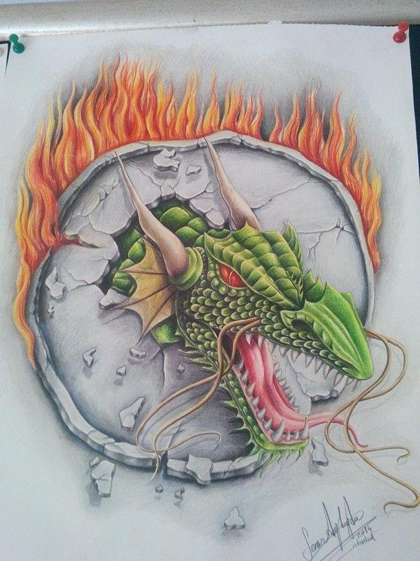 Dragon drawing semra aydogdu .05348310066