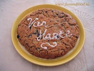 Zelfgemaakt van mij - voor jou: Giga Chocolate Chip Cookie