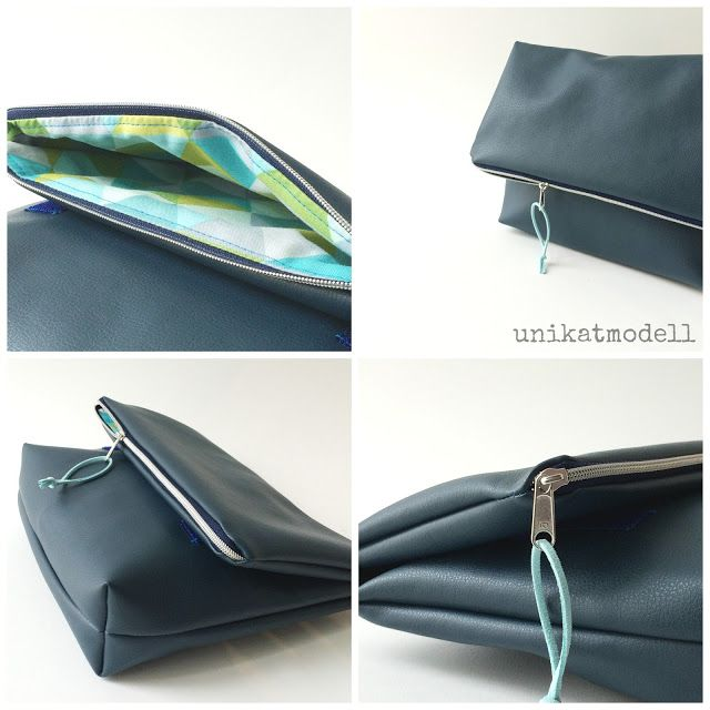 Fold-Over-Clutch, made by unikatmodell