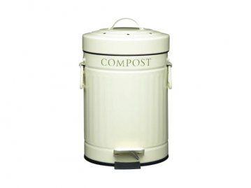 Kuchyňský koš na bioodpad 3L pedálový 4