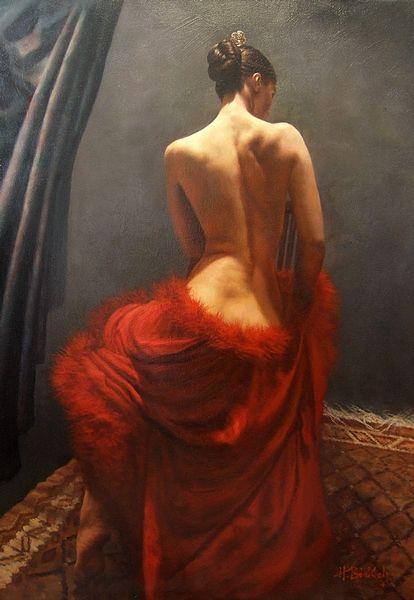 hamish blakely art | Painting Speaks For Itself! Terrific Series Of Women Painting | Design ...