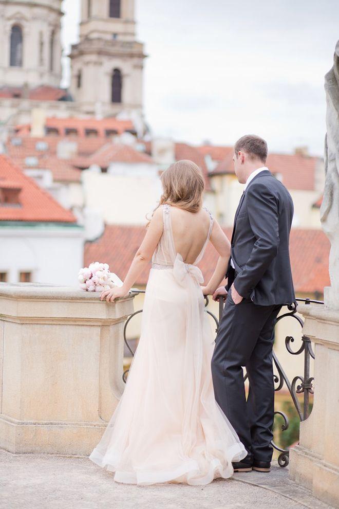 "Real Wedding in Prague Inspired by Zahavit Tshuba ""Daria"" | bellethemagazine.com"