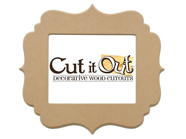 cut it out custom and decorative wood cutouts cheap unfinished frames