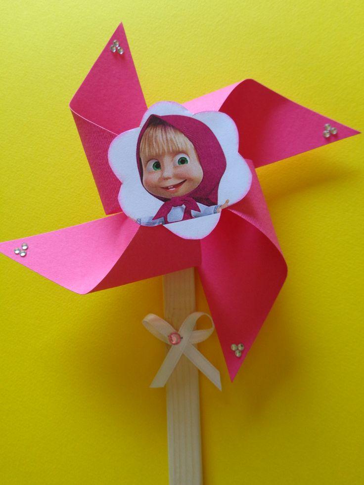 Invito per un compleanno - Girandola Masha