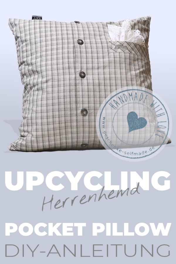 Pocket Pillow – ein Kissen mit Tasche ist ein originelles Geschenk