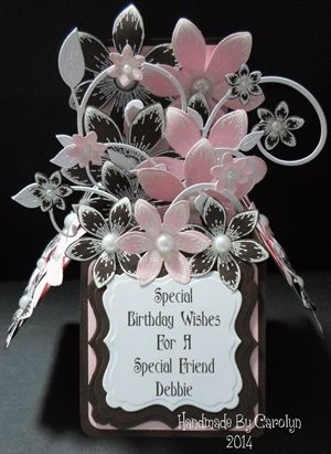 POP-UP BOX BIRTHDAY CARD (3 IMAGES) by: carolynshellard: