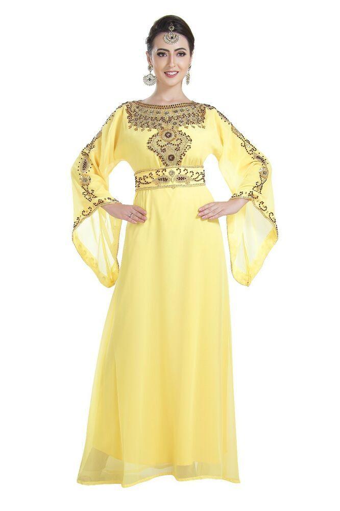 fecb373cdc eBay #Sponsored Dubai Farasha Abaya African Kaftan HENNA NIQQAH DRESS  Maghribi Gown 7199 M SIZE