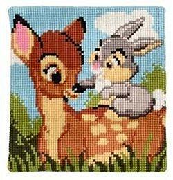 Deer Bambi cross stitch.