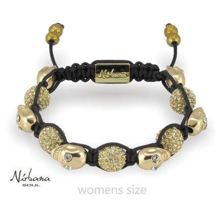Nirbana Soul - Cialone - Women's Golden skull bracelet