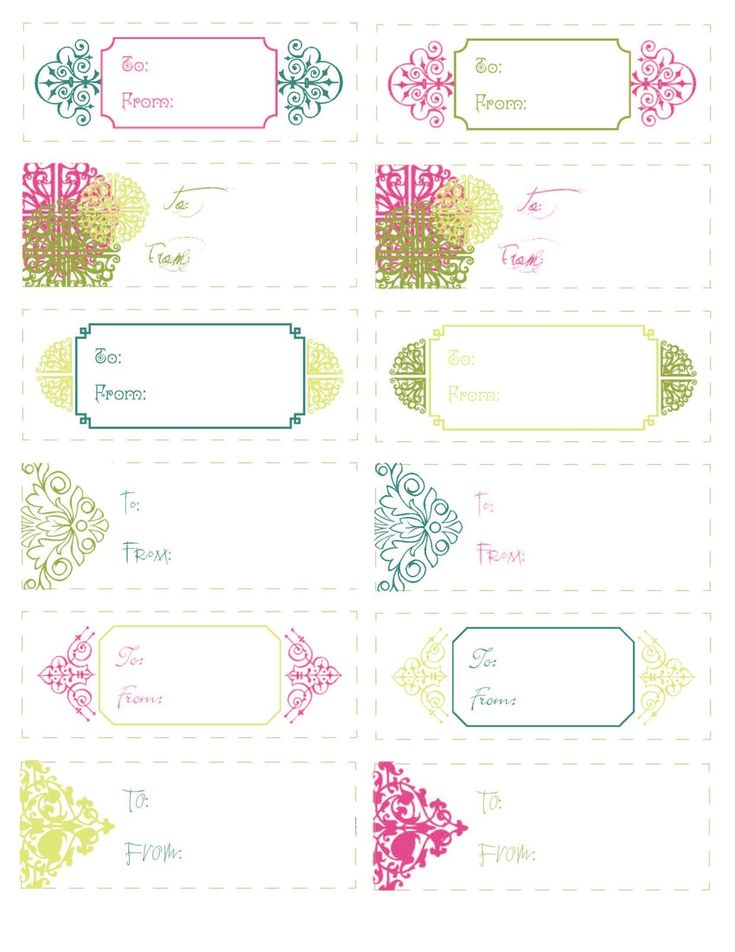 Best Gift Cards Template Images On   Free Printable
