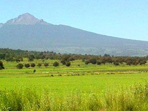 La Malinche, Tlaxcala // East of Mexico City, another volcano