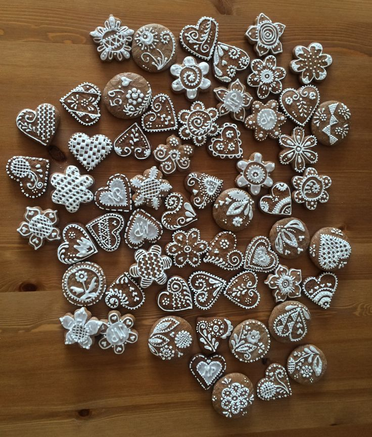 Wedding ginger bread biscuits