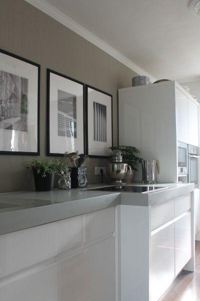 Die besten 25+ Küche weiß grau Ideen auf Pinterest Graue küche - kche wandfarben