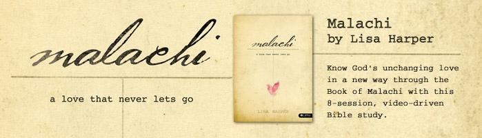 Malachi study lifeway