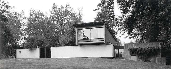 Højen, Brabrand, Denmark.  Knud Friis' own house. Build 1958.
