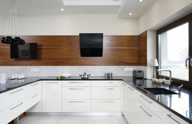 Kuchnia ocieplona drewnem