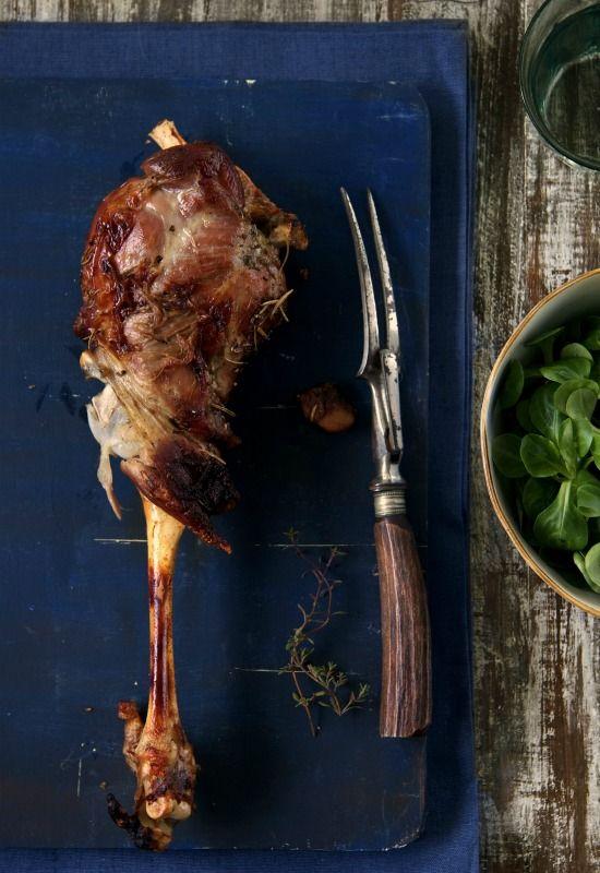 Receta 803: Pierna de cordero pascual asada » 1080 Fotos de cocina