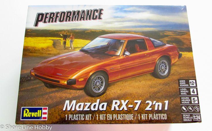 Revell Monogram Mazda RX-7 2 in 1 Plastic Model Kit 1/24 85-4429