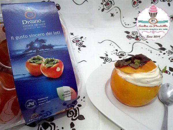 """Mousse di kaki. Una ricetta realizzata con i nostri kaki dalla blogger Angela di """"Salta in pafella"""". www.divanosrl.it #kaki #ricette #persimmon"""