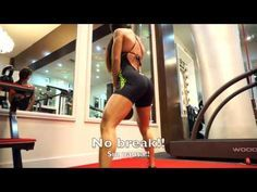 MICHELLE LEWIN - 30 minute butt workout - YouTube