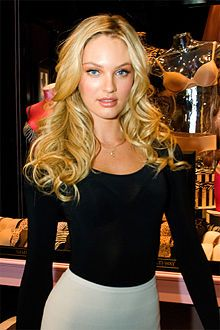 Candice-Swanepoel Discovered at a flea market in Durban, this Victoria's Secret supermodel hails from Mooi River, a true Afrikaner who happens to be of Dutch descent.