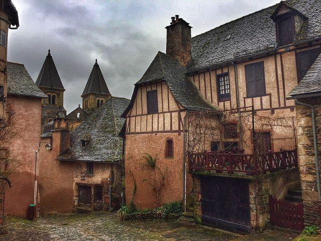 Conques (Midi-Pyrnénés, Francia)