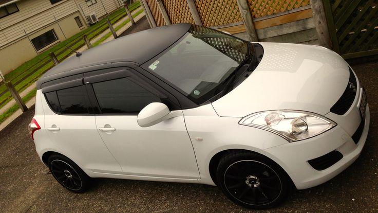 Roof Wrap Car Wrap Suzuki Swift