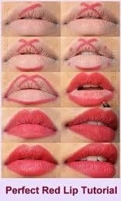 Resultado de imagen para maquillaje de labios gruesos paso a paso